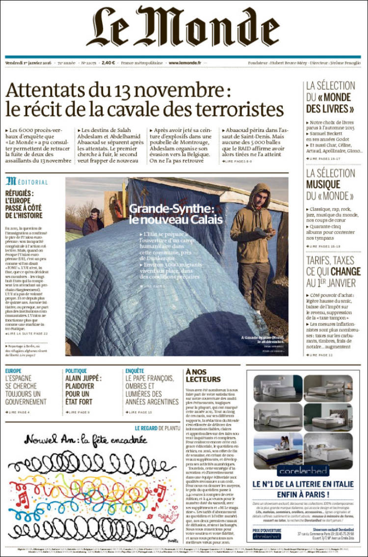 Site de rencontre du journal le monde