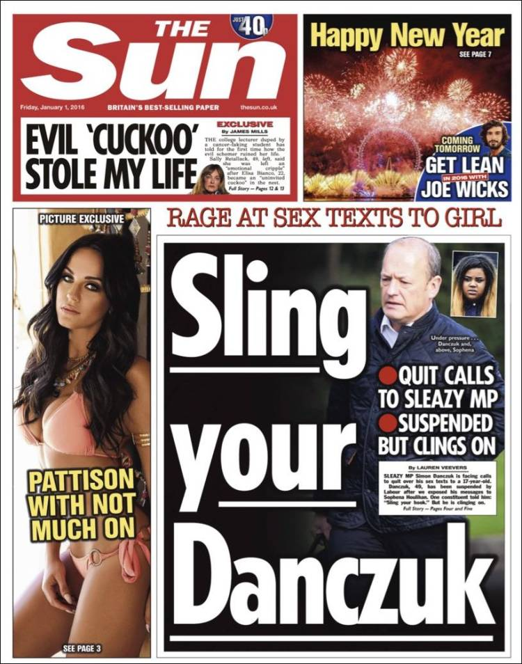Newspaper The Sun (United Kingdom). Newspapers in United ...