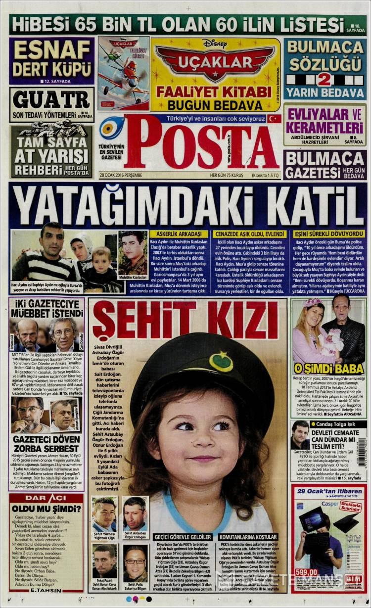 Posta Gazetesi Arşivi