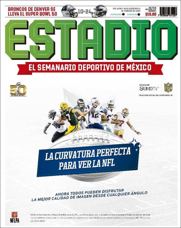Portada de Estadio (México)