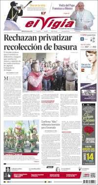 Portada de El Vigía (Mexico)
