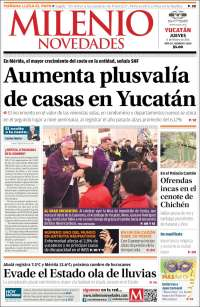 Portada de Milenio Novedades (Mexico)