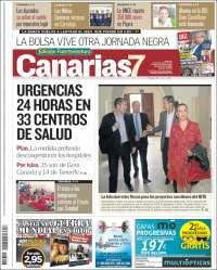 Portada de Canarias 7 - Fuerteventura (España)