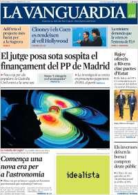 Portada de La Vanguardia - Català (Spain)