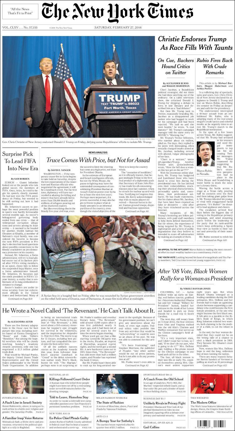 an overview of the article on the new york times Overview of teacher welcome to the new york times in freshmen at high technology high school in new jersey tell you in their own words what reading the.