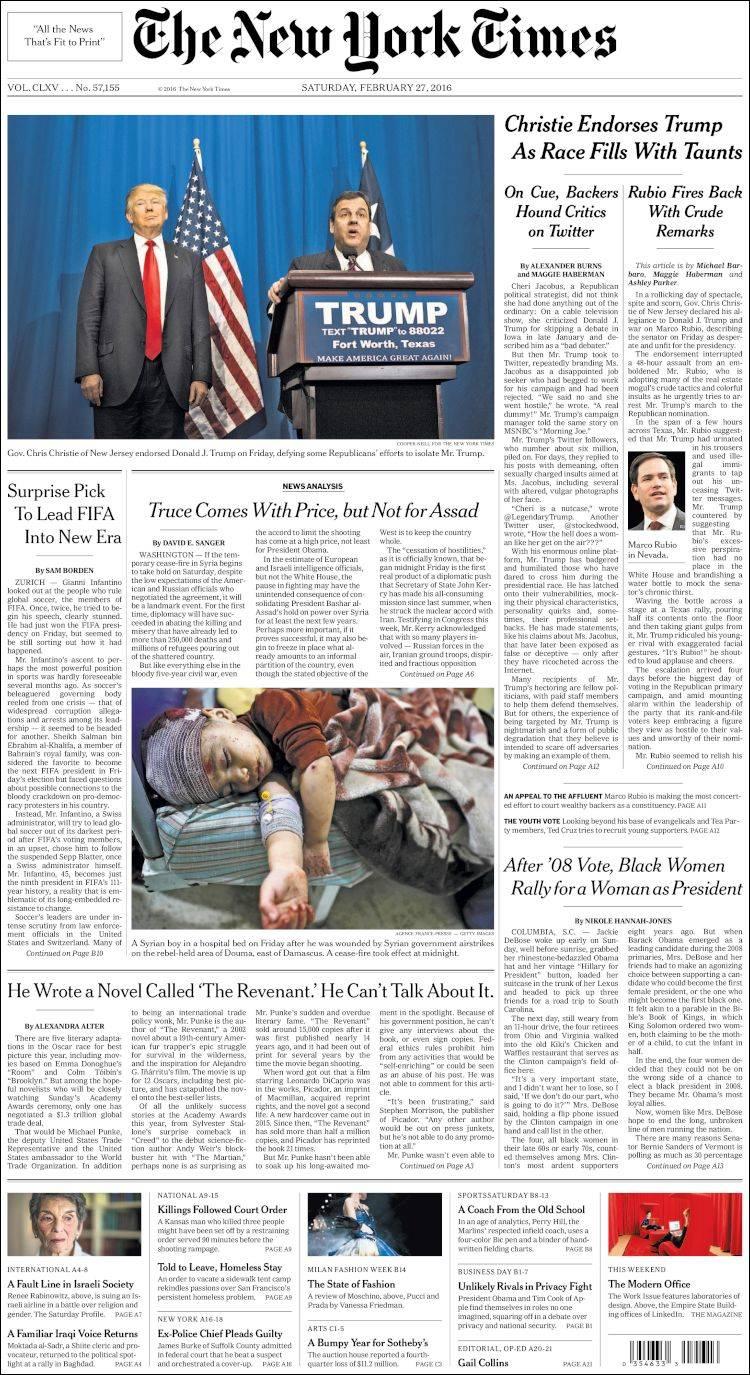 Newspaper usa