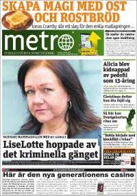 Portada de Metro (Sweden)