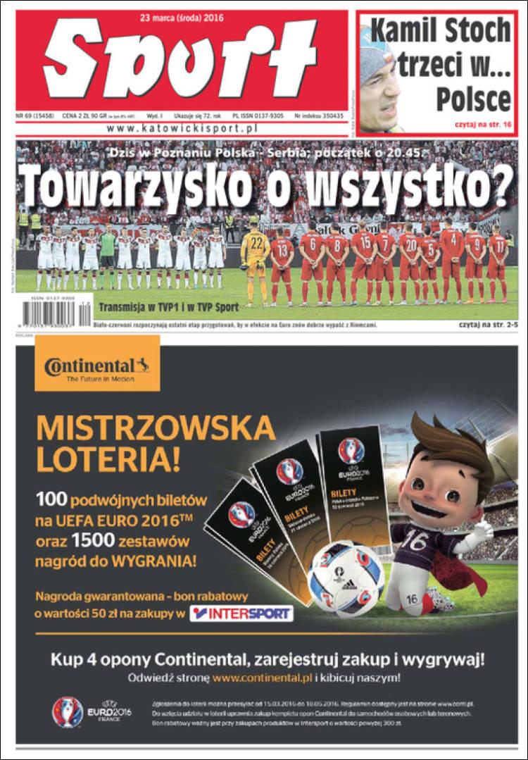 Portada de Katowicki Sport (Polonia)