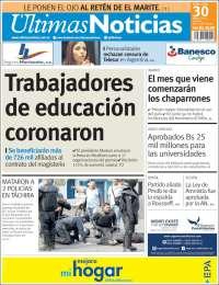 Periódico Últimas Noticias (Venezuela). Periódicos de Venezuela. Toda la  prensa de hoy. Kiosko.net be23d6405022c
