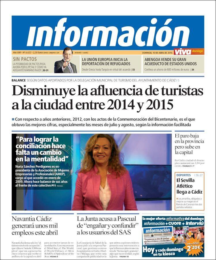 Periódico Viva Cadiz (España)  Periódicos de España  Edición
