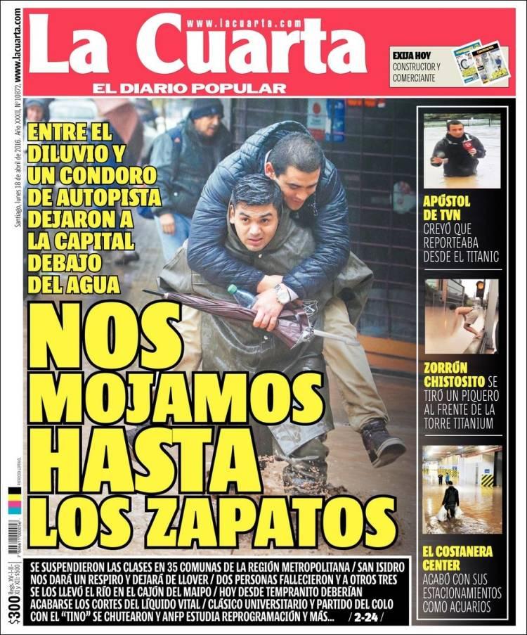 """Marabolí: """"La cuarta es el diario más leído de Chile"""""""