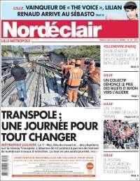 Portada de Nord Éclair (Francia)