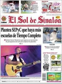 Portada de El Sol de Sinaloa (Mexico)