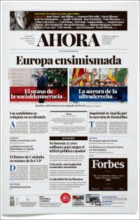 Portada de Ahora Semanal (España)