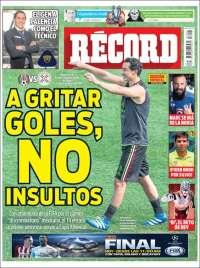 Portada de Record (México)