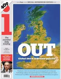 Portada de The i (United Kingdom)
