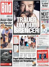 Portada de Bild (Germany)