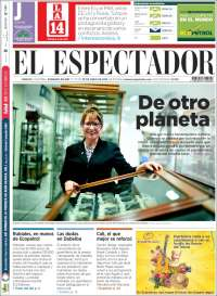 Portada de El Espectador (Colombia)