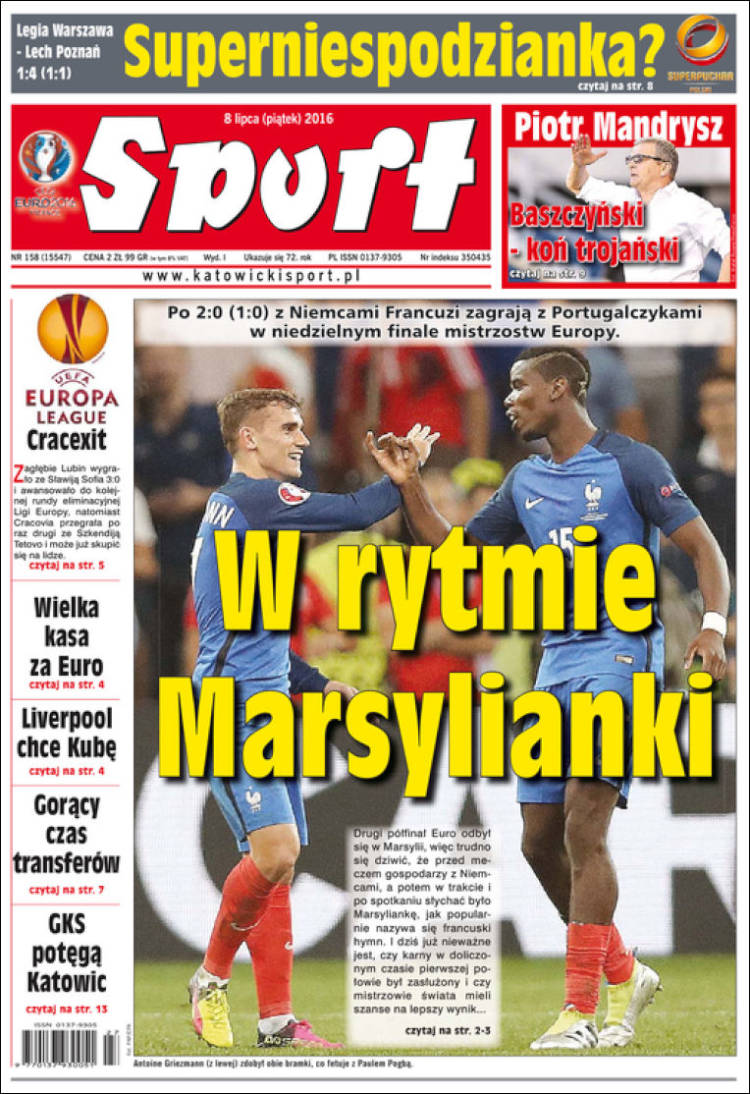 sports reaction paper