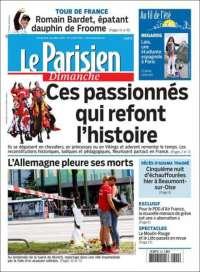 Portada de Le Parisien (France)