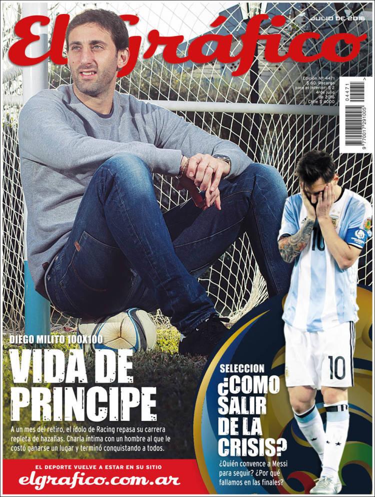 Portada de El Gráfico (Argentina)