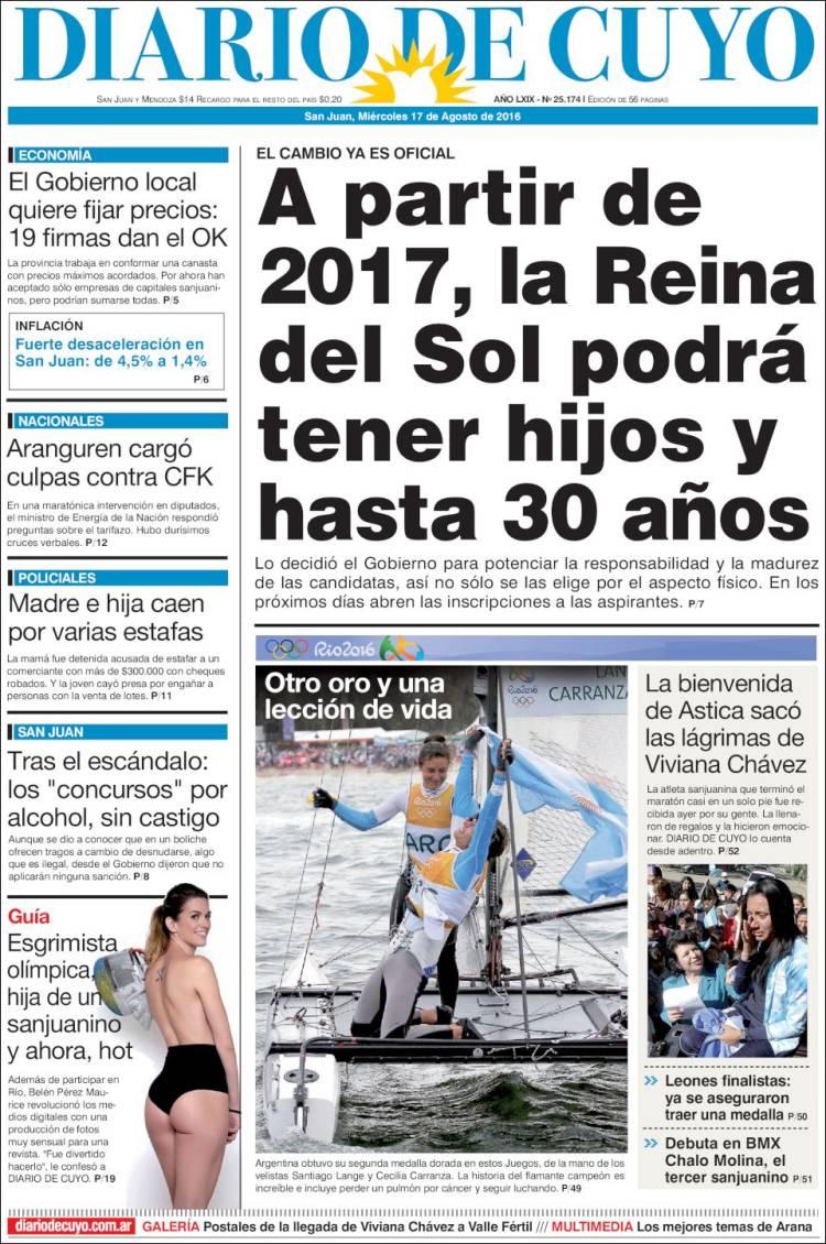 peri 243 dico diario de cuyo argentina peri 243 dicos de
