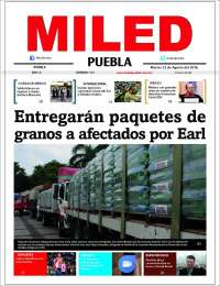 Portada de Miled - Puebla (México)
