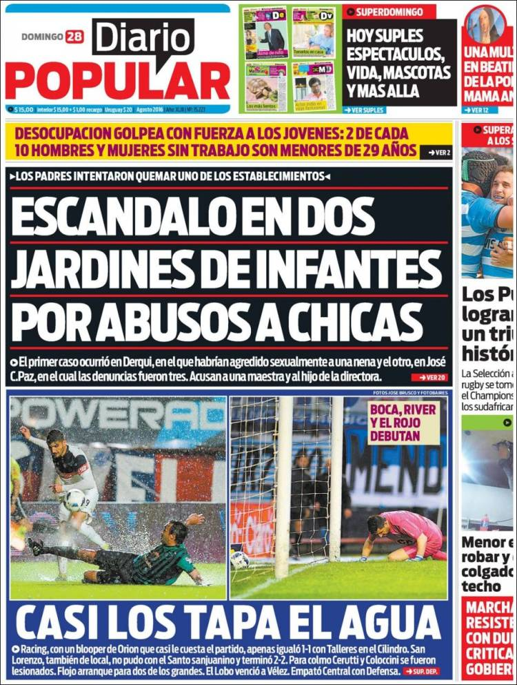 newspaper diario popular argentina newspapers in
