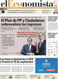 Portada de El Economista (España)
