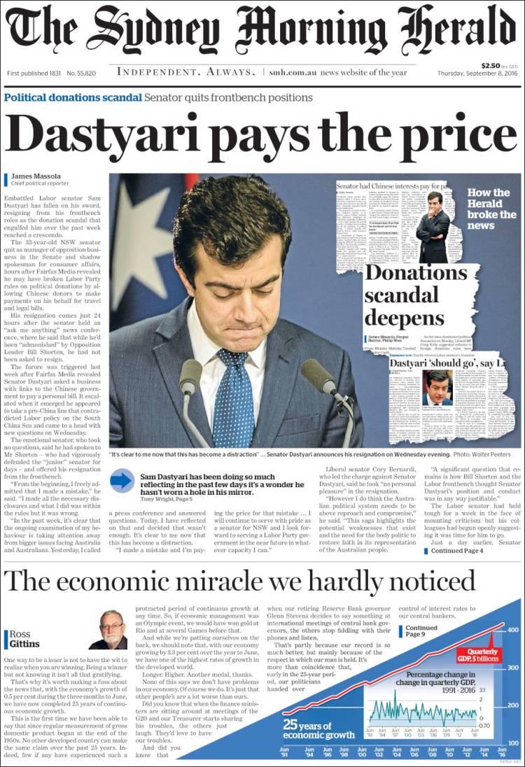 sydney morning herald news