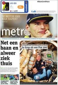 Portada de Metro (Netherlands)