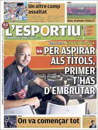 Portada de L'Esportiu : Girona (Espagne)
