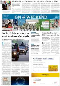 Portada de Gulf News (Asia-Pacific)