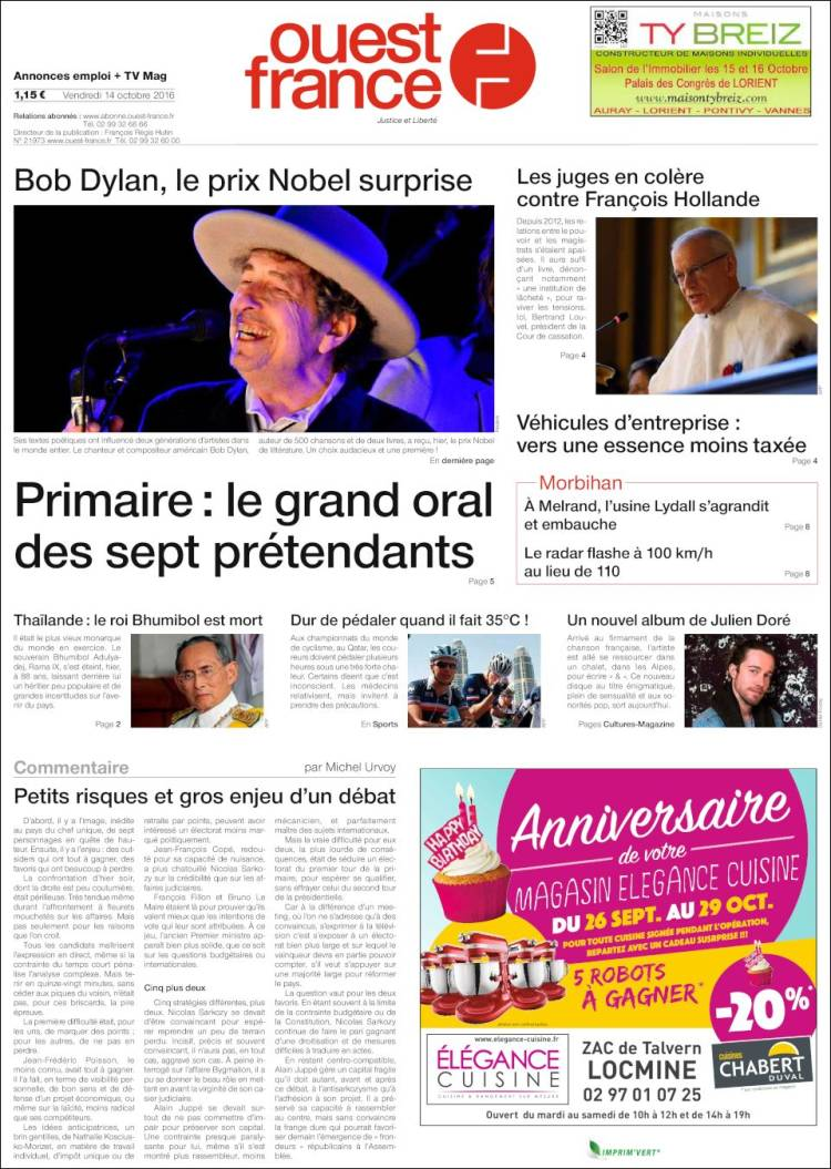 Emploi Ouest France Morbihan