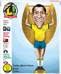 Portada de Lance! (Brasil)