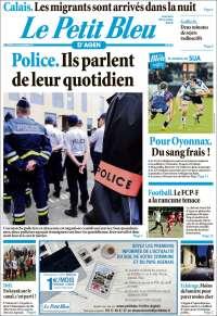 Portada de Le Petit Bleu (France)