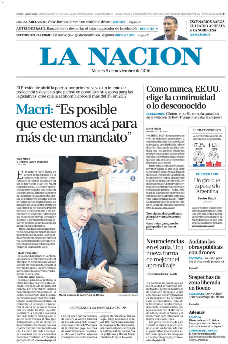 newspaper la naci 243 n argentina newspapers in argentina