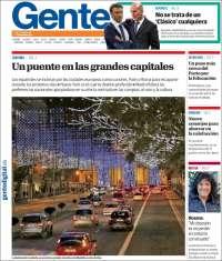 Portada de Gente en Valladolid (España)
