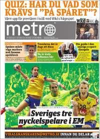Portada de Metro (Suecia)